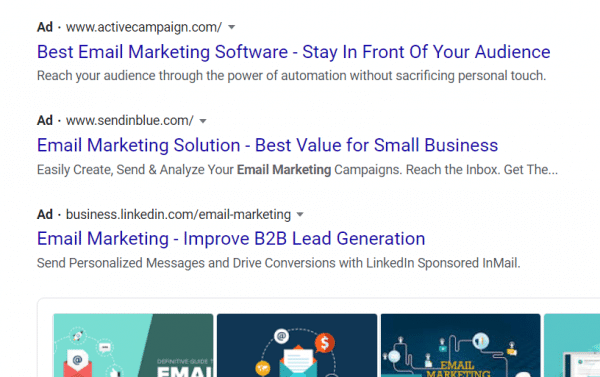 google ads for small business marketing
