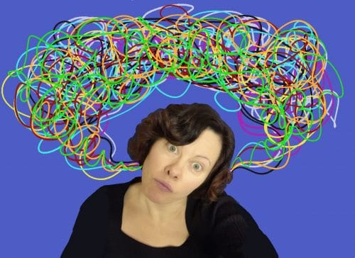 overflowing brain