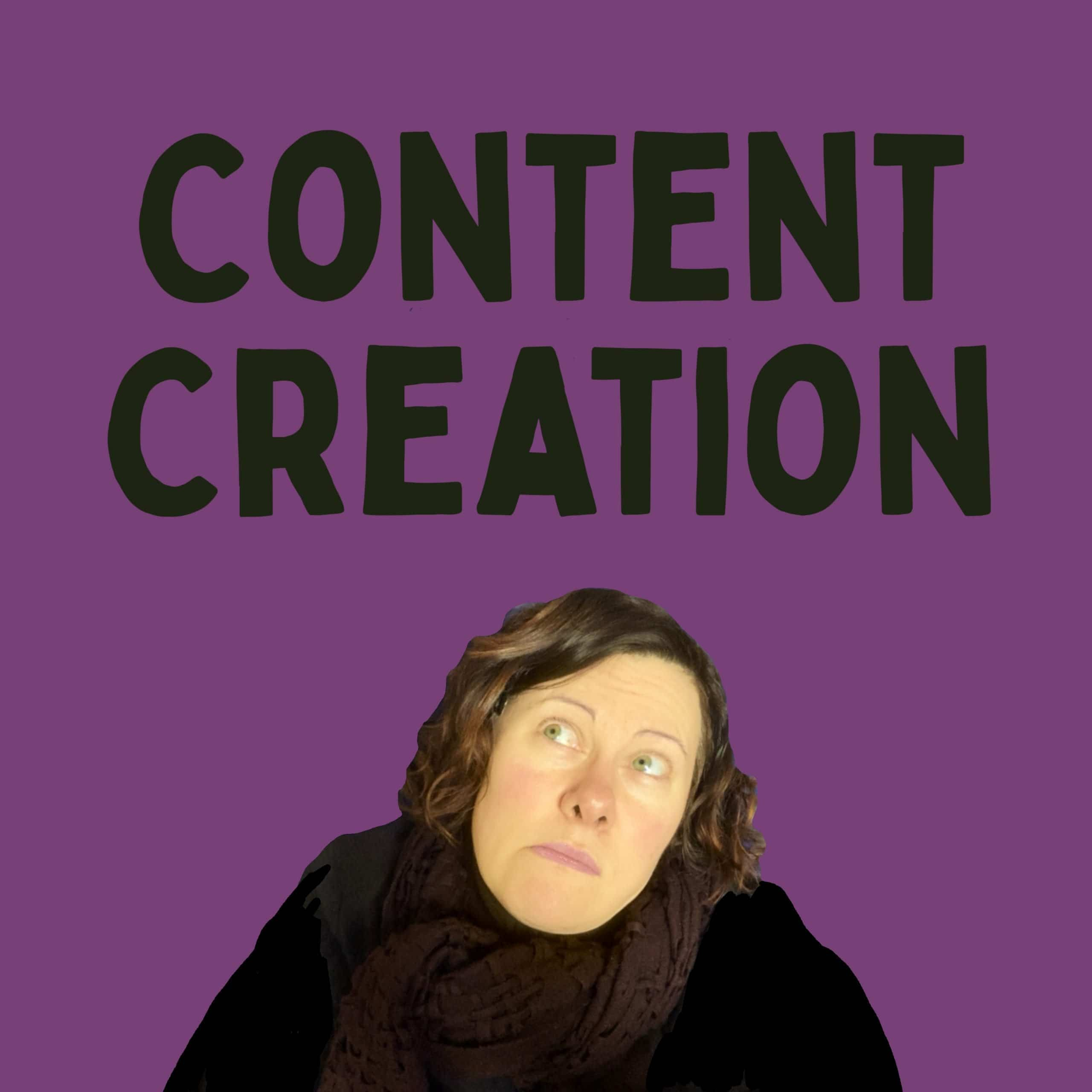 small business owner dreads content creation