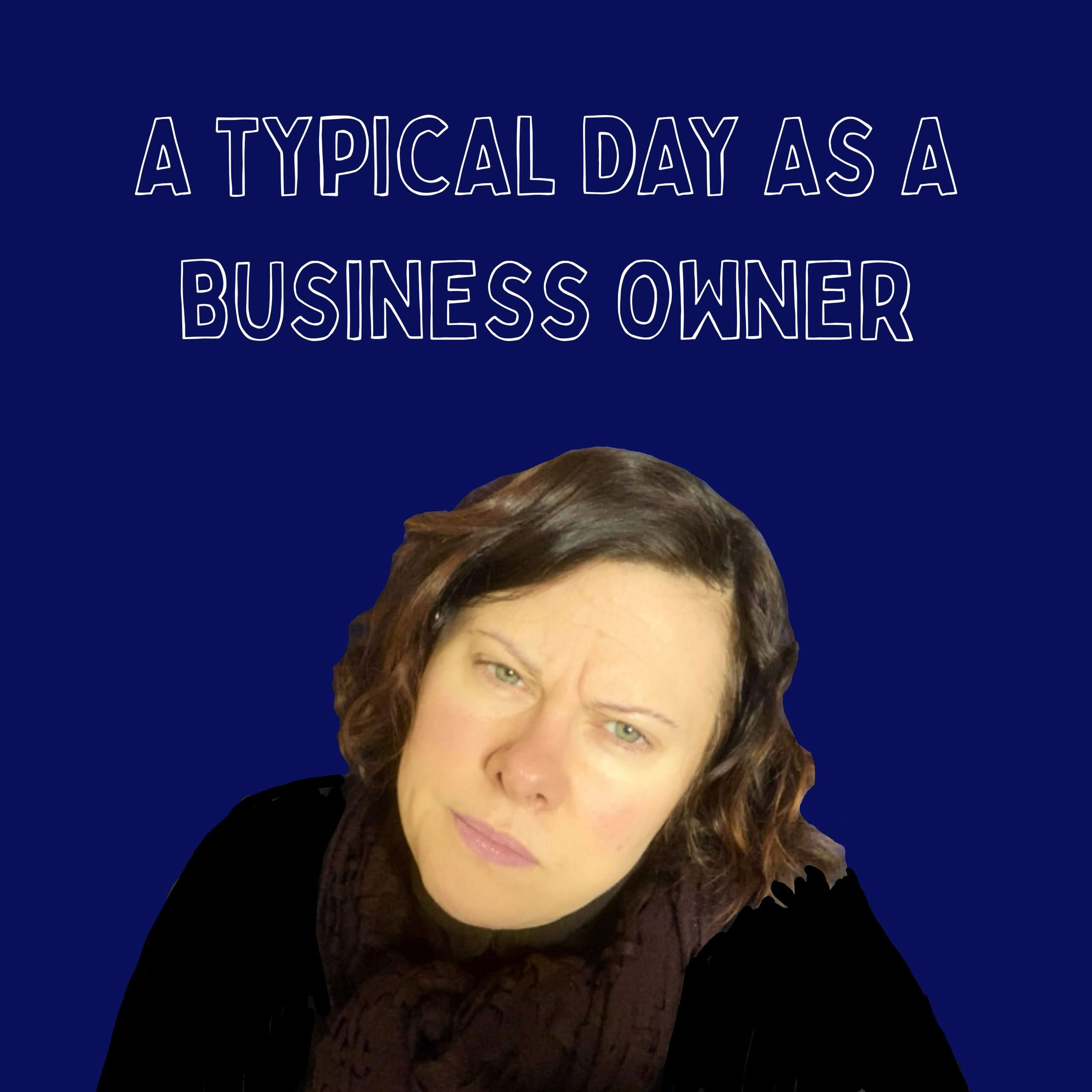 frustrated small business owner